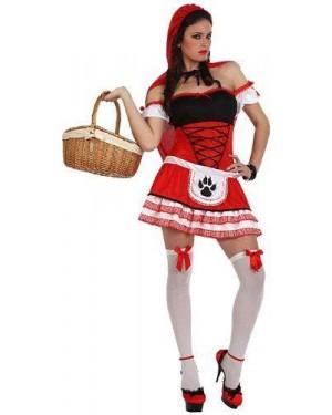 Costume Cappuccetto Rosso Sexy, T- 2
