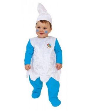 Costume Puffetta 12/18 Mesi 82 Cm