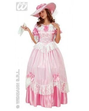 WIDMANN 90311 costume bridal belle s contessa rosa