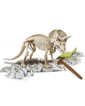 clementoni 13187 dinosauro triceratopo focus junior