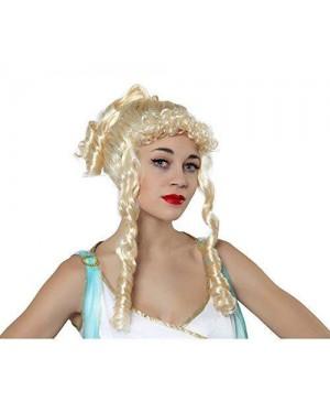 ATOSA 29793 parrucca dea greca bionda boccoli