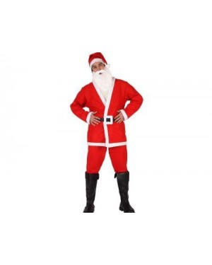 Costume Babbo Natale Adulto T.2 M/L