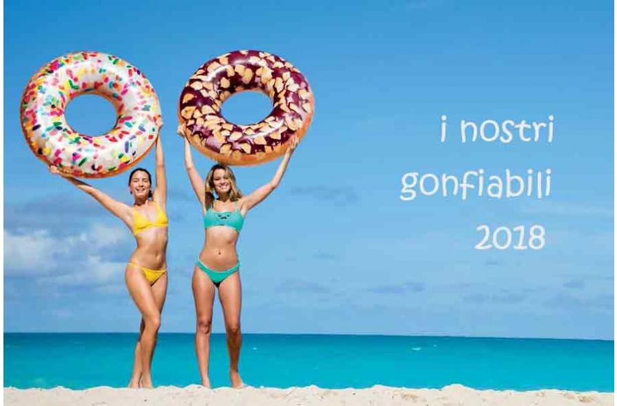 Gonfiabili Giganti | fenicottero | ciambelle | Festa | estate